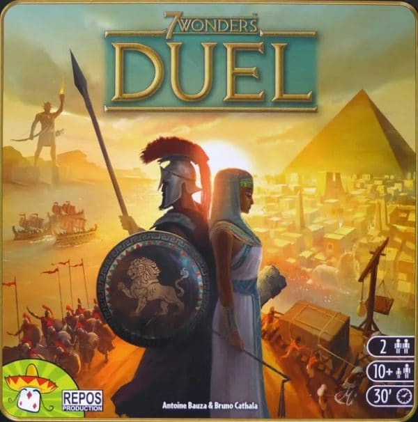 Bordspel 7 Wonders Duel