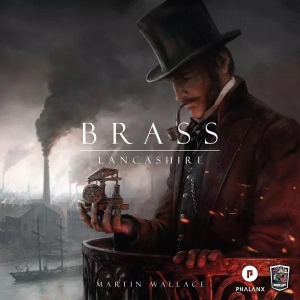 Bordspel Brass Lancashire
