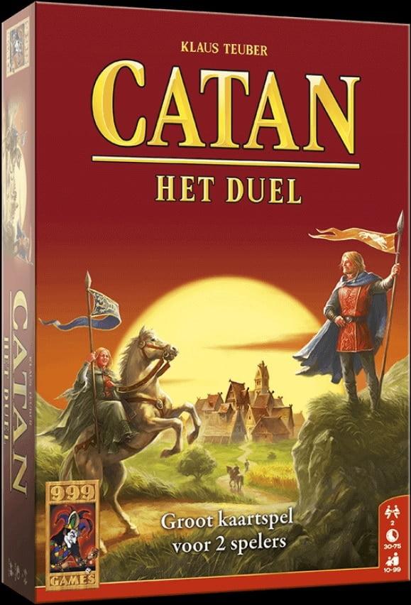 Kaartspel Catan het Duel