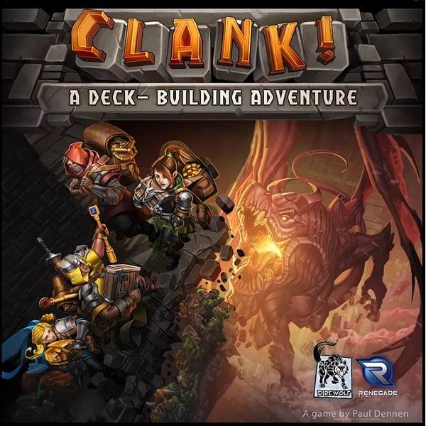 Bordspel Clank!: A Deck-Building Adventure
