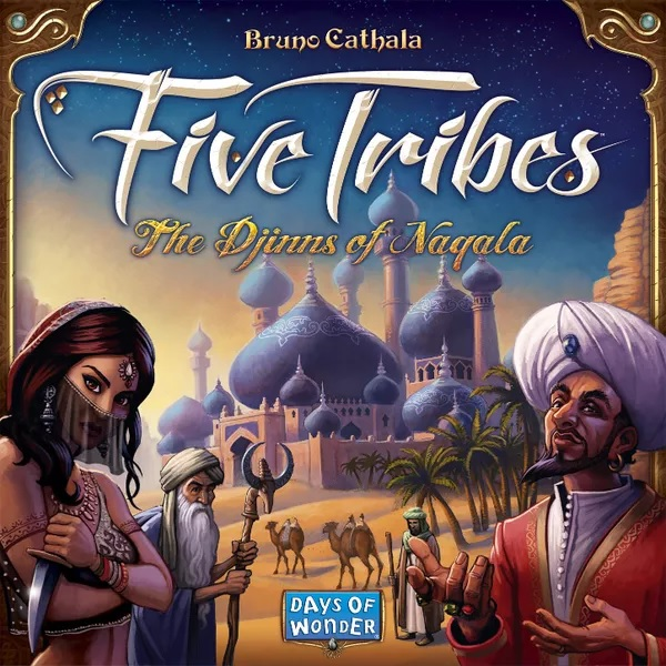 Bordspel Five Tribes