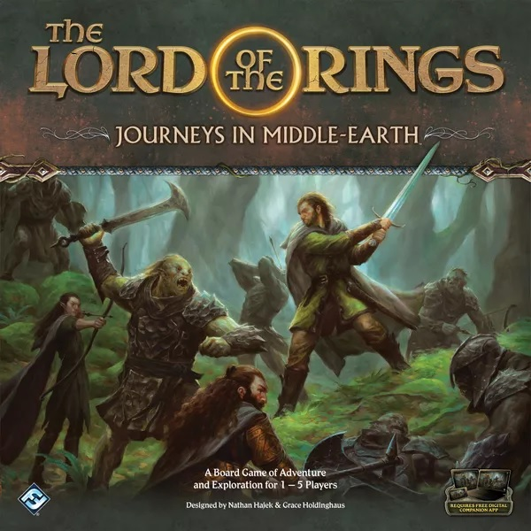 Bordspel Lord of the Rings Journey in Middle-Earth