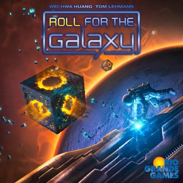 Bordspel Roll for the Galaxy