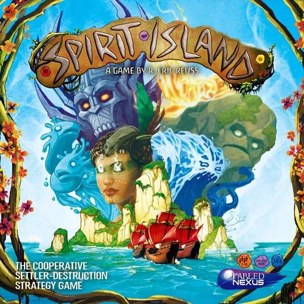 Bordspel Spirit Island