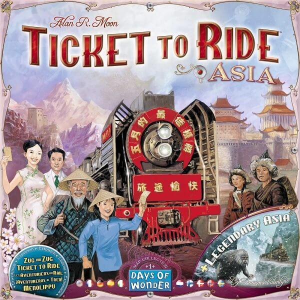Bordspel Ticket to Ride Asia
