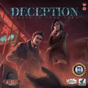 Bordspel Deception Murder in Hong Kong