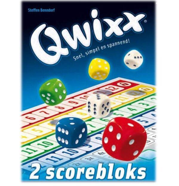 Dobbelspel Qwixx extra Scorebloks