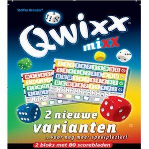 Dobbelspel Qwixx Mixx Uitbreiding